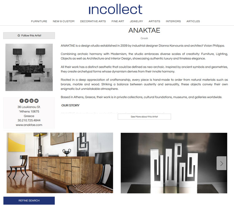 Anaktae Joins Incollect