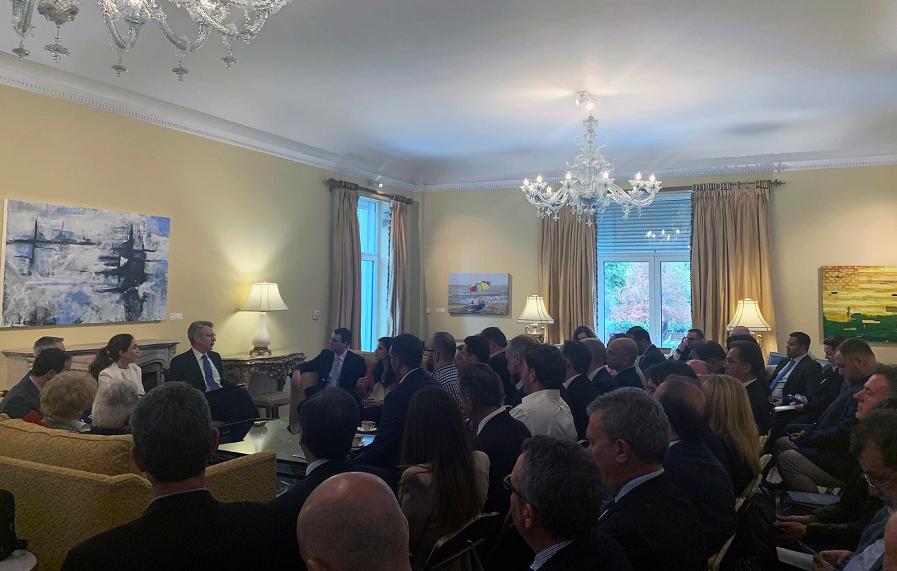 Anaktae Presents Us Market Expansion At Us Ambassador's Residence
