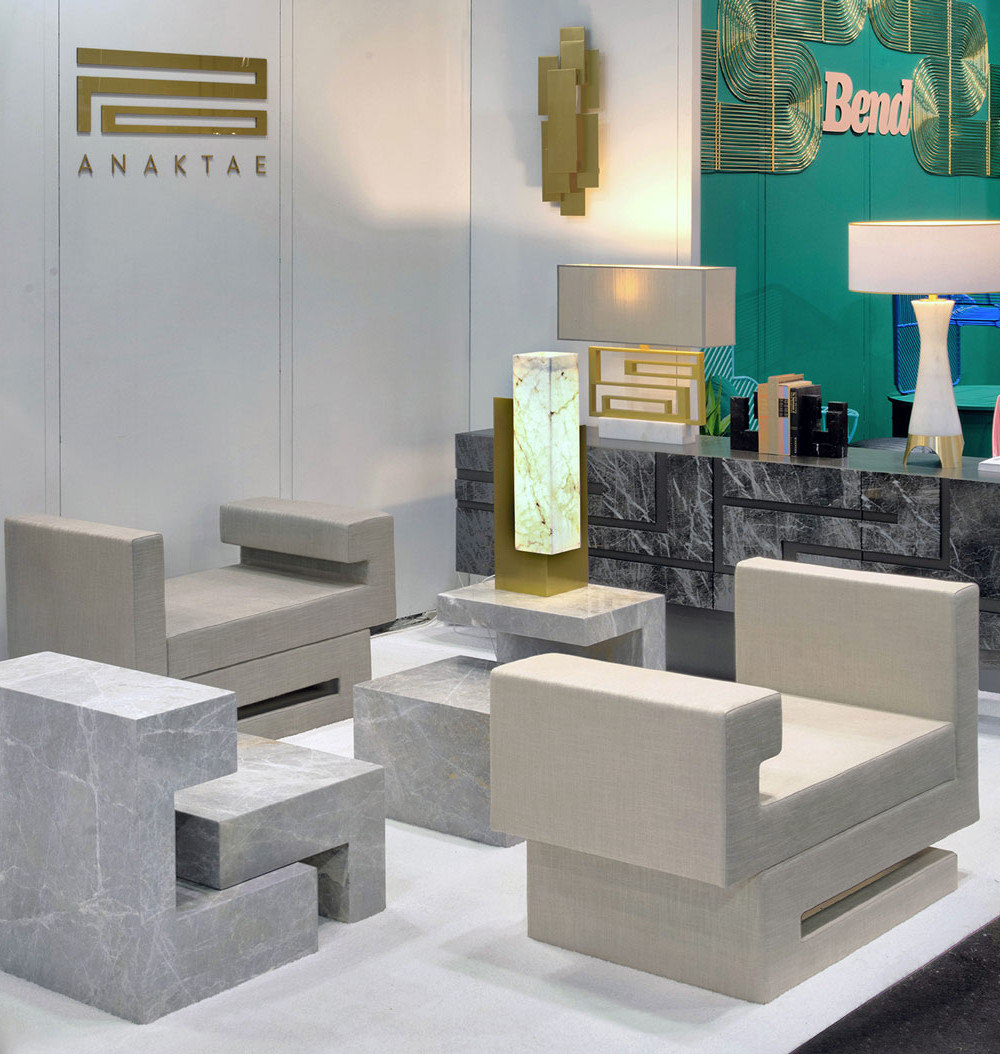 Anaktae participating in ICFF, New York, May 2018
