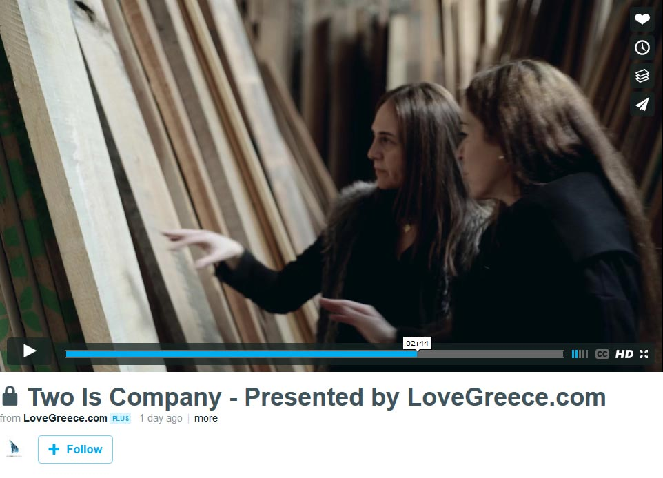 Two Is Company Join Lovegreece