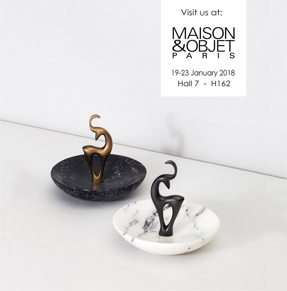 Visit Our Booth at Maison&objet, Paris January 2018